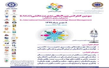 سومین کنفرانس بینالمللی مدیریت دانشی با رویکرد رهبری دانشگران (KM4D)